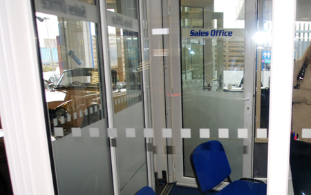 Hi-Profile Frosted window film