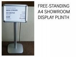 SHOWROOM SPEC SHEET HOLDER, A4 DISPLAY STAND