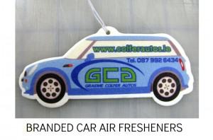 BRANDED CAR AIR FRESHENERS