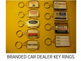 KEY RINGS, PLASTIC KEY FOB, PICTURE KEY RING