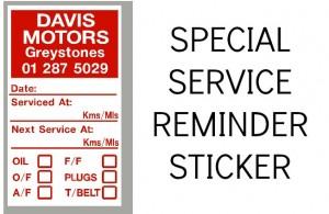 BESPOKE SERVICE STICKERS