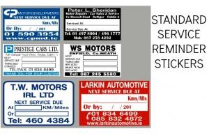 Service Stickers Automotive Stickers Design