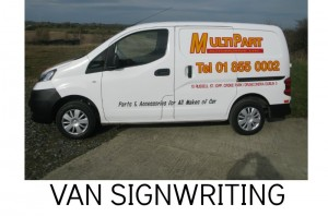 VAN SIGNS, VEHICLE GRAPHICS, VAN DECALS, ADVERTISE ON MY VAN
